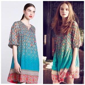 Anthropologie Tanvi Kedia Glimmered Ankita Dress